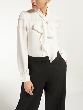 Silk crepe de chine shirt