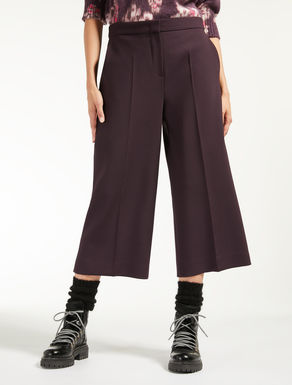Plain weave trousers