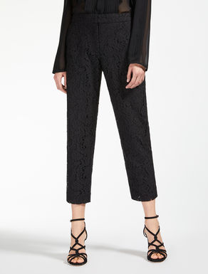 Cotton lace trousers