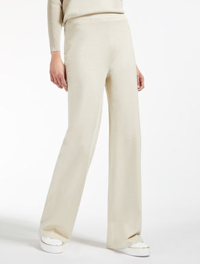 Viscose yarn trousers