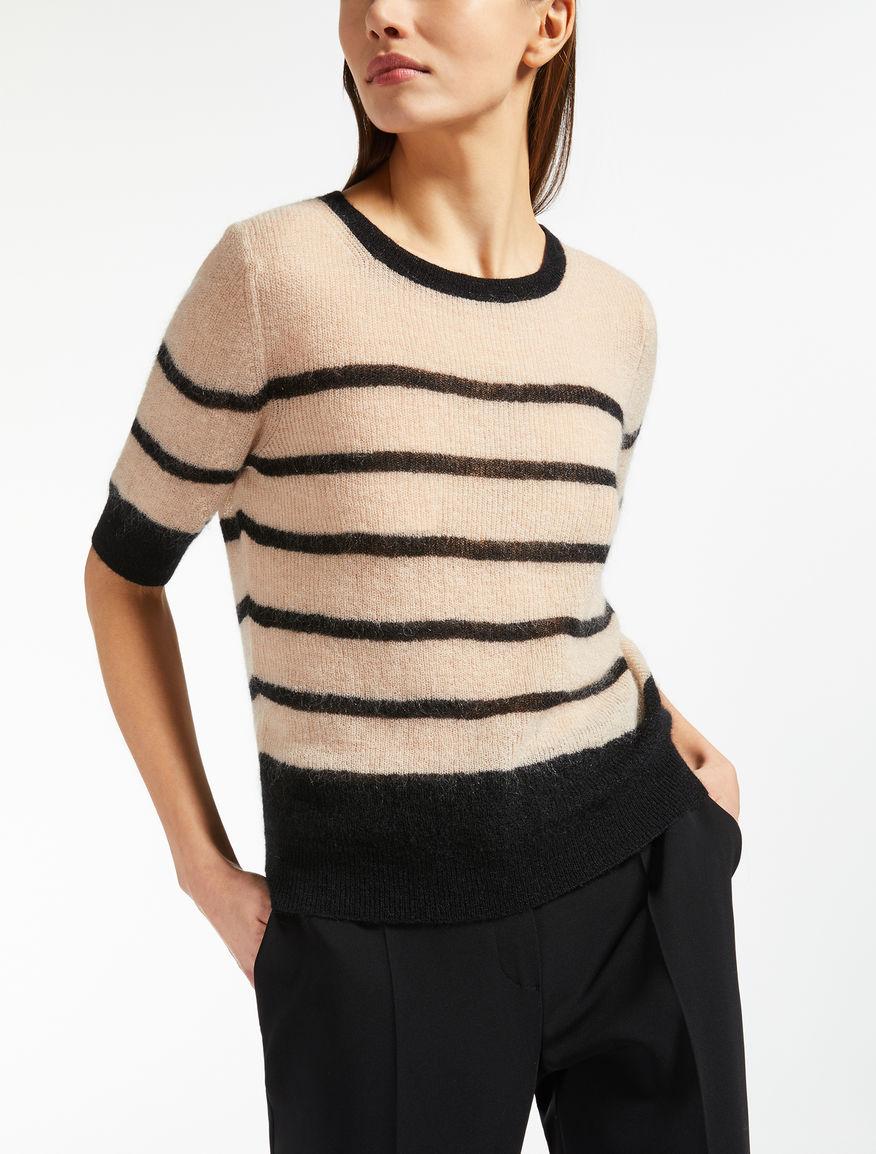 Mohair gauze jumper