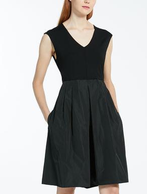 ビスコース ストレッチジャージー ドレス