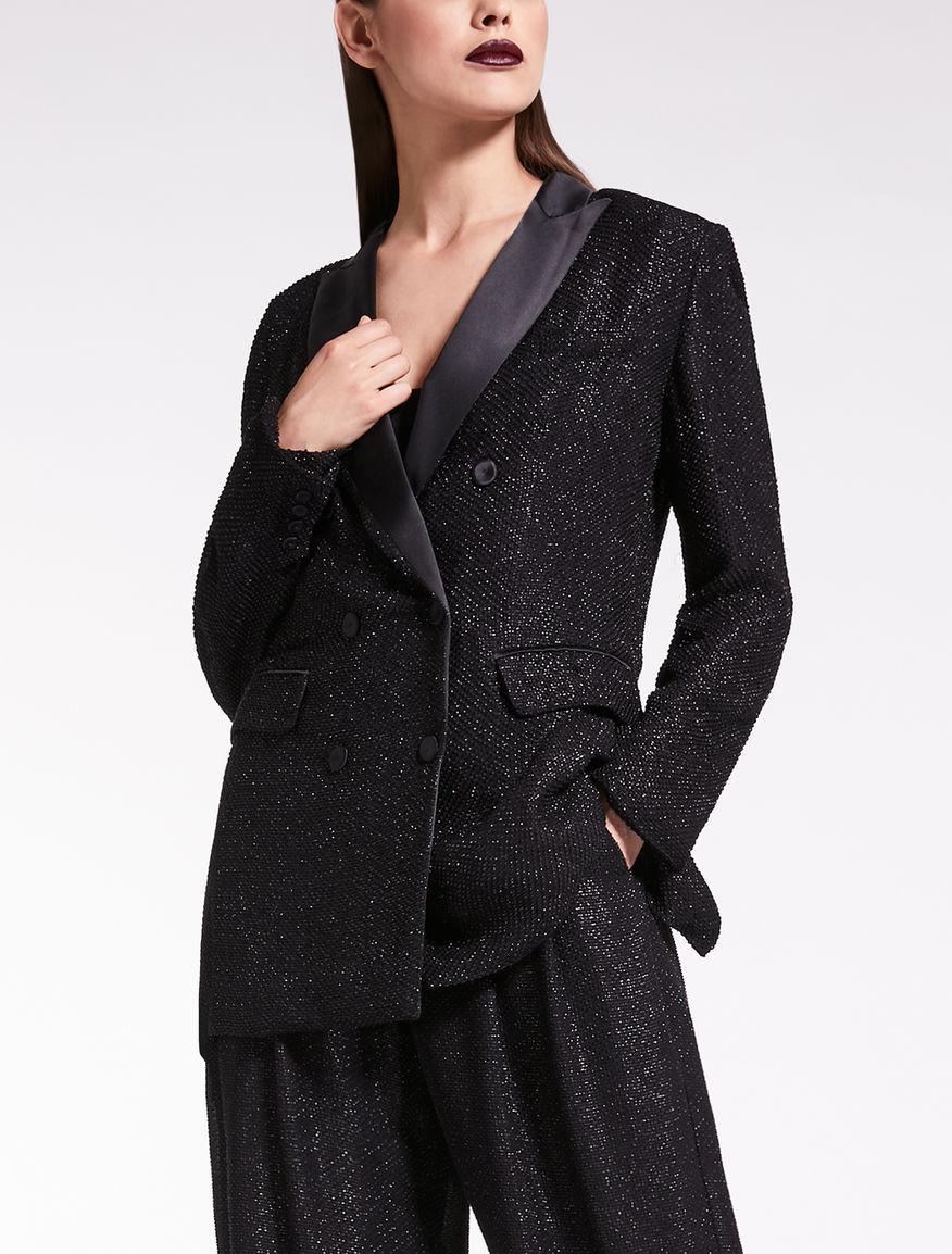 Jacquard blazer