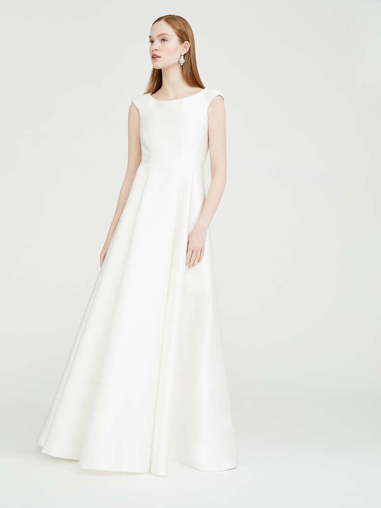 Duchess silk dress