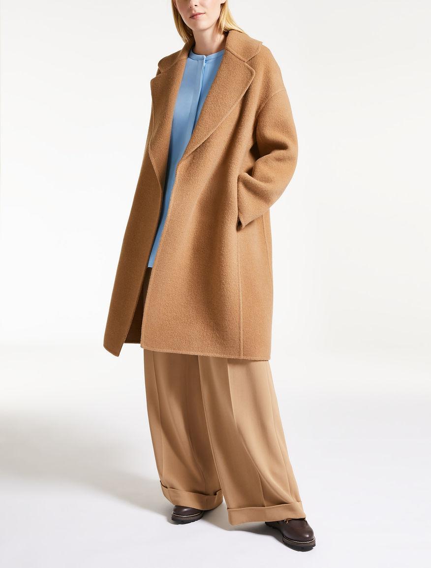 Mohair wool coat