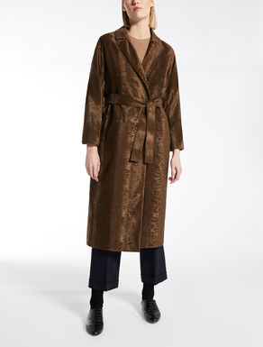 Cotton-blend coat