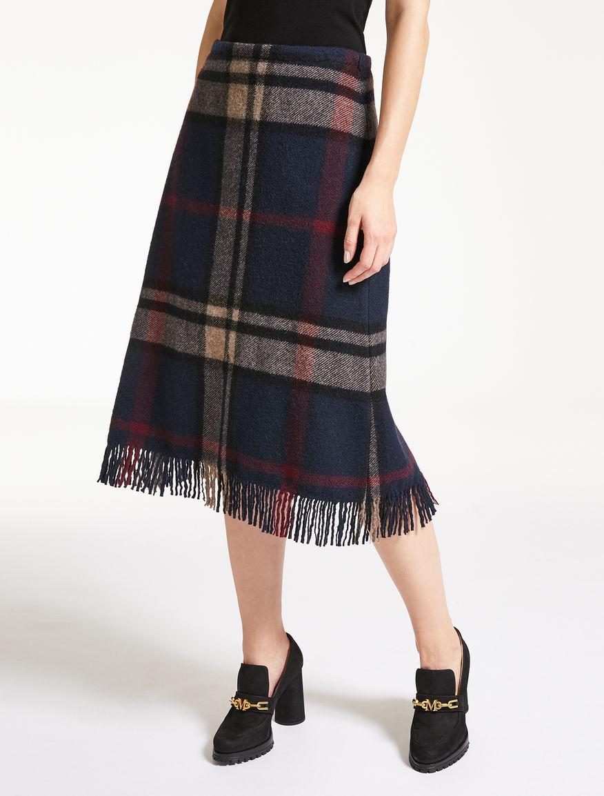 ピュア ウールスカート