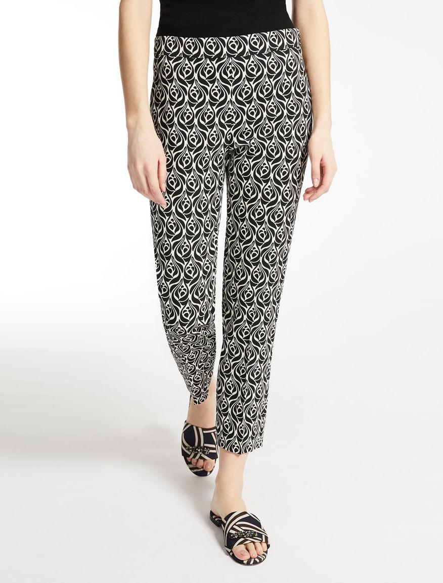 Pantaloni in cady di viscosa