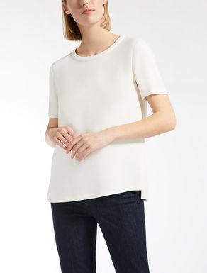 T-shirt en cady de viscose