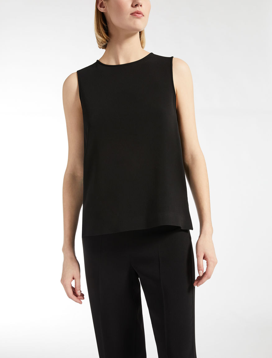 Top en cady de viscose stretch