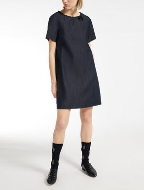Cotton denim dress