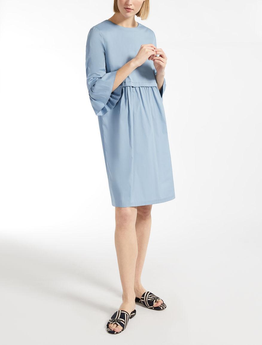 Vestido de popelina de algodón
