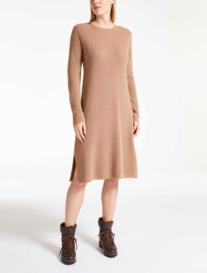 ウール カシミヤニット ドレス/オンライン限定商品