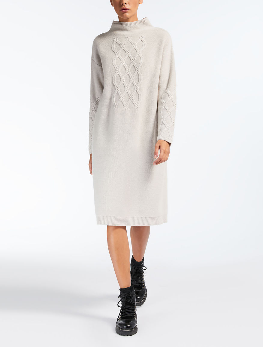 ウール カシミヤニット ドレス