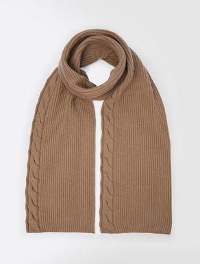 Sciarpa in filato di lana e cachemire