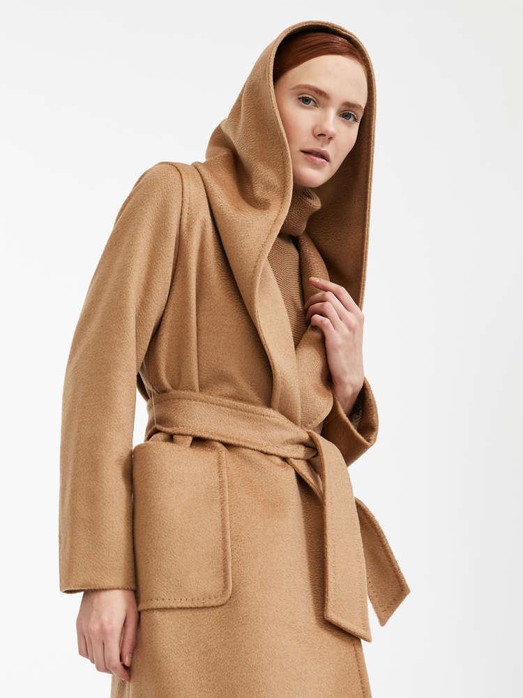Kaschmir mantel damen camel
