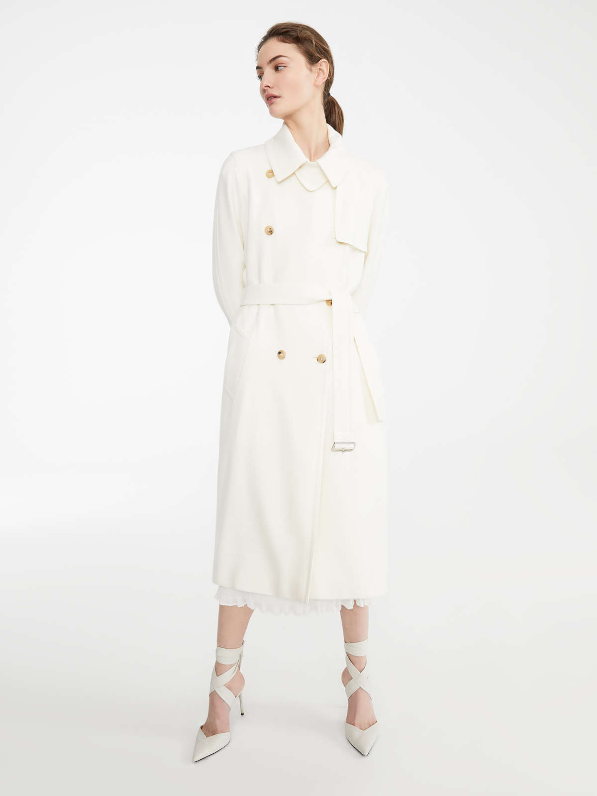 15adeb1c5199 Wool trench coat