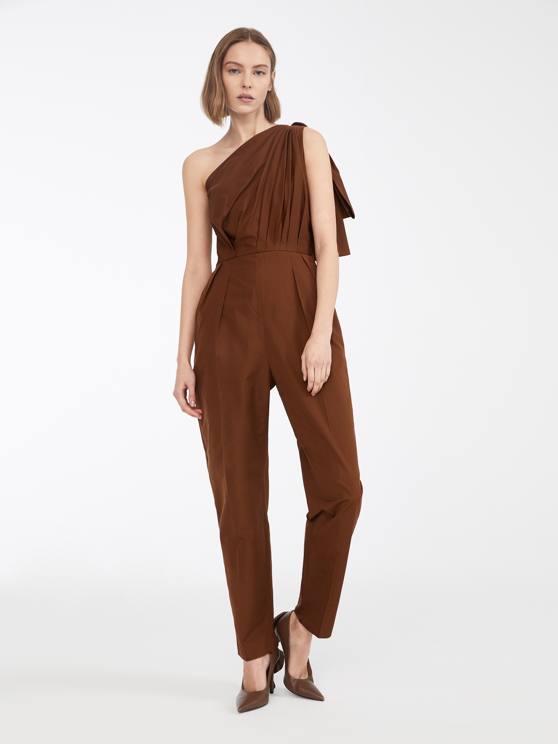 5f473fcad91 Cotton poplin jumpsuit