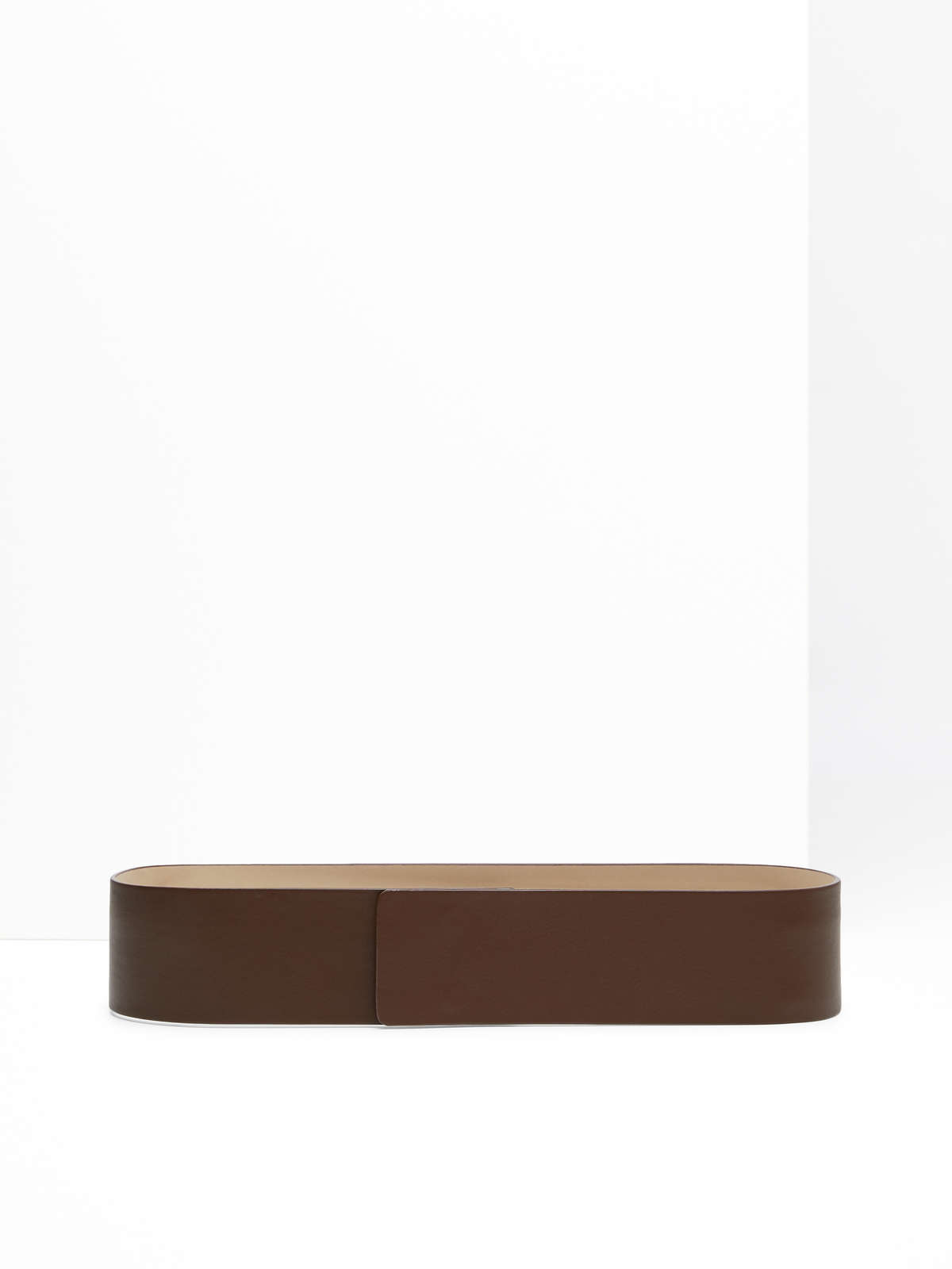Max Mara - Leather bustier belt - 1