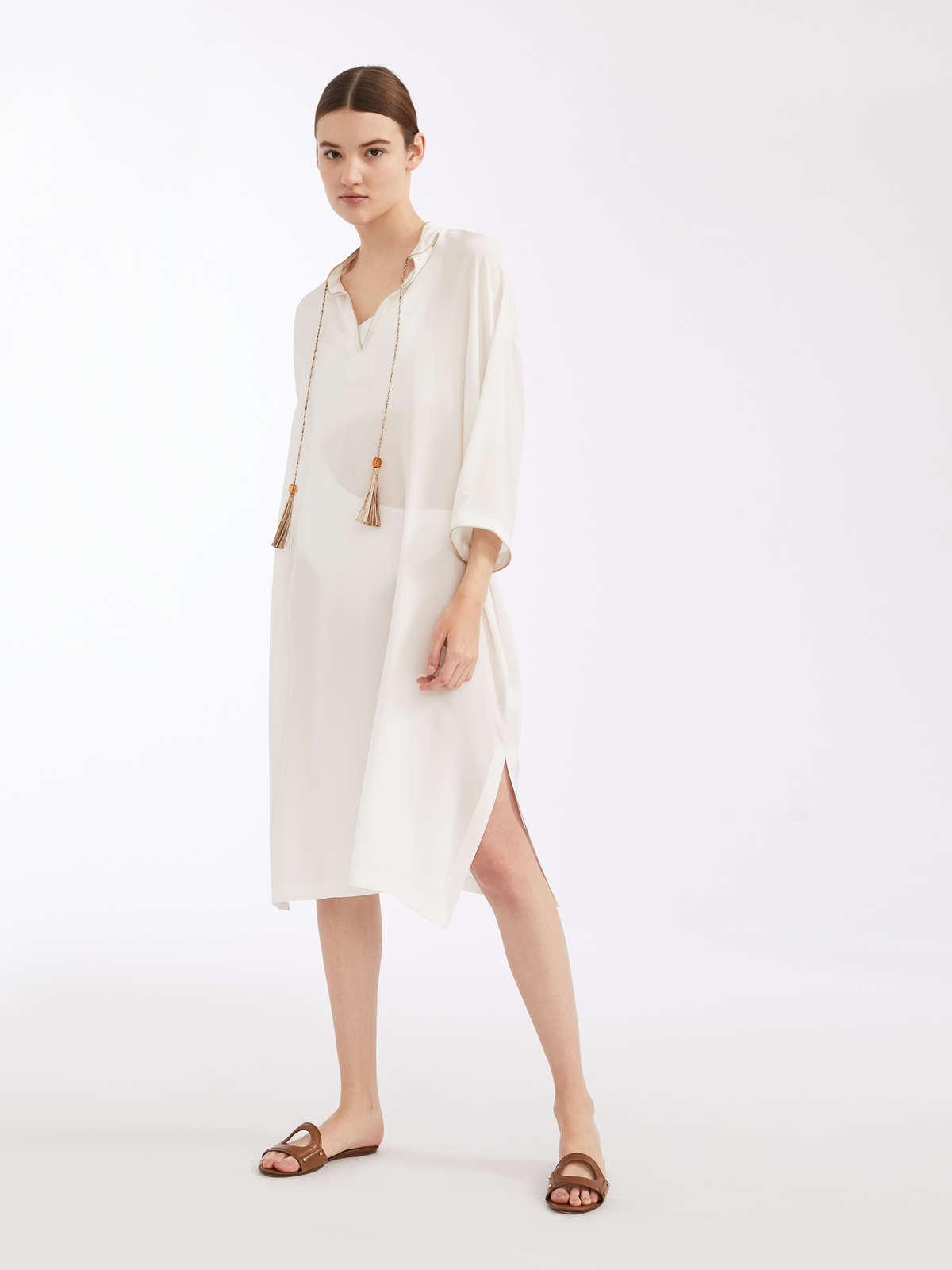 1835202fbd96e Silk crepe de chine dress