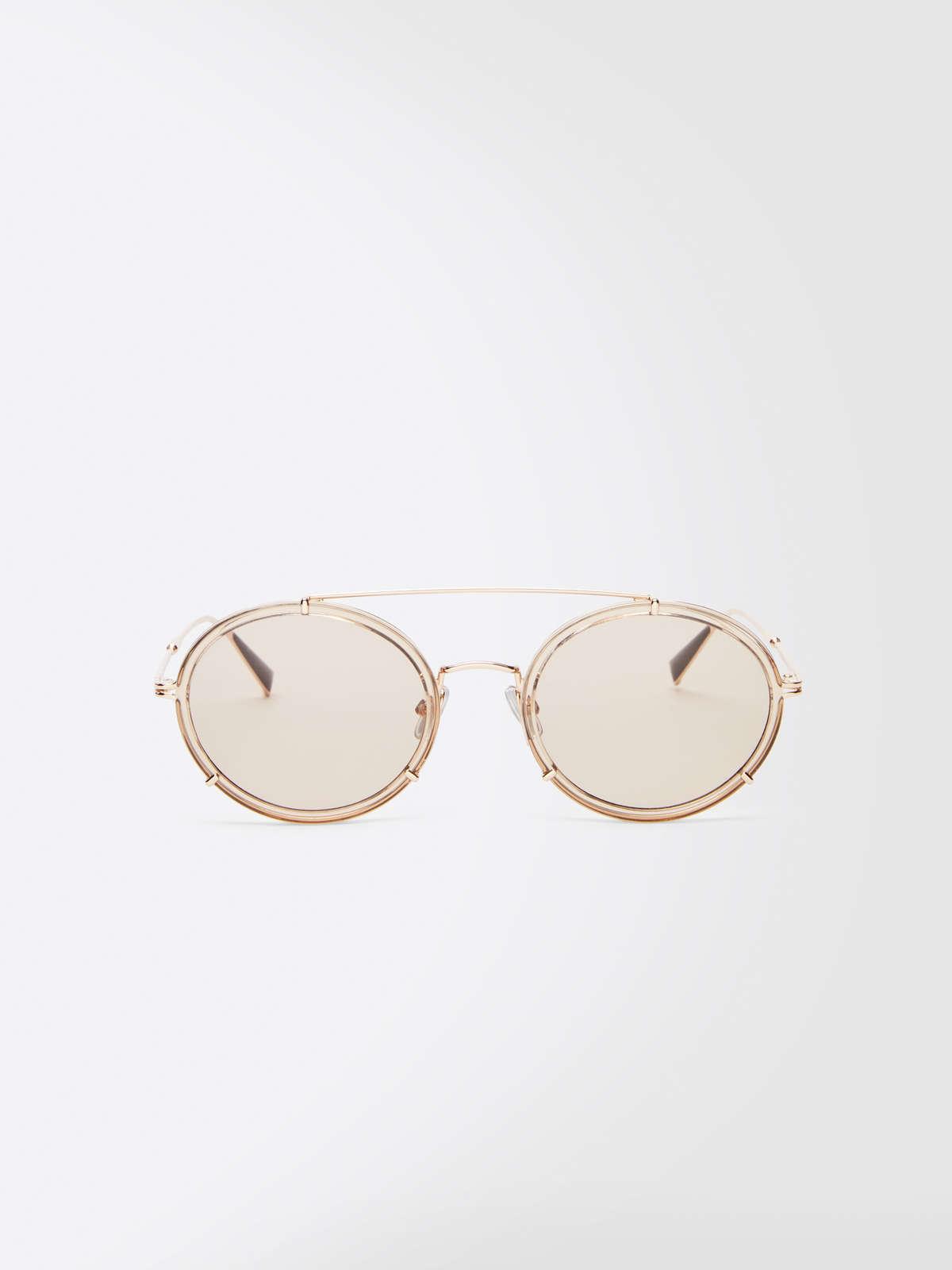 Max Mara - Schmale ovale Sonnenbrille - 5