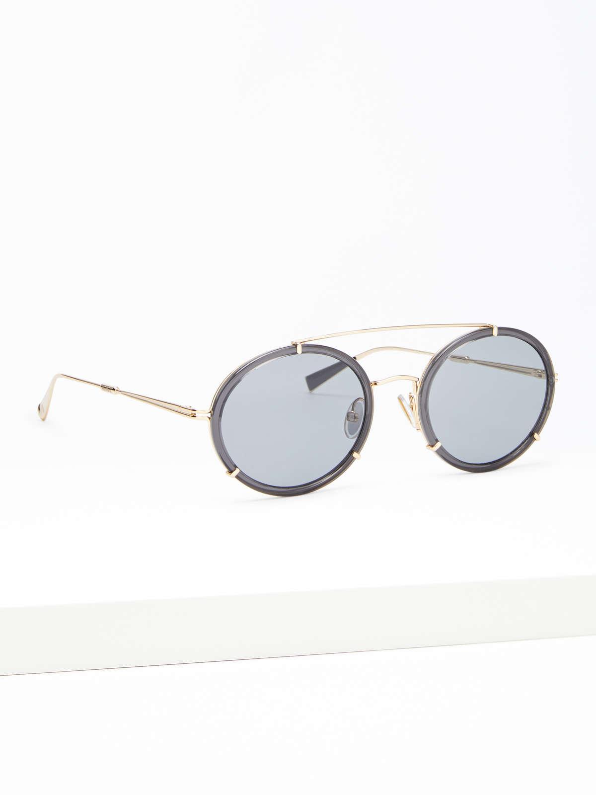 Max Mara - Schmale ovale Sonnenbrille - 2