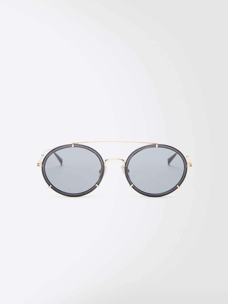 Slim oval sunglasses