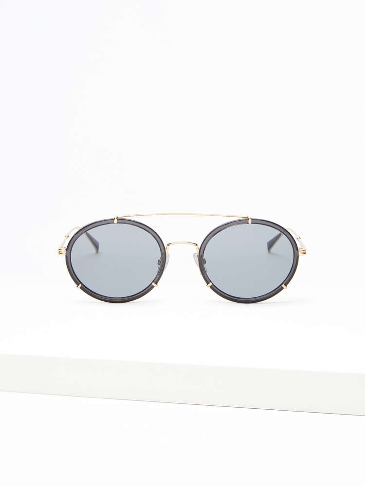 Slim oval sunglasses
