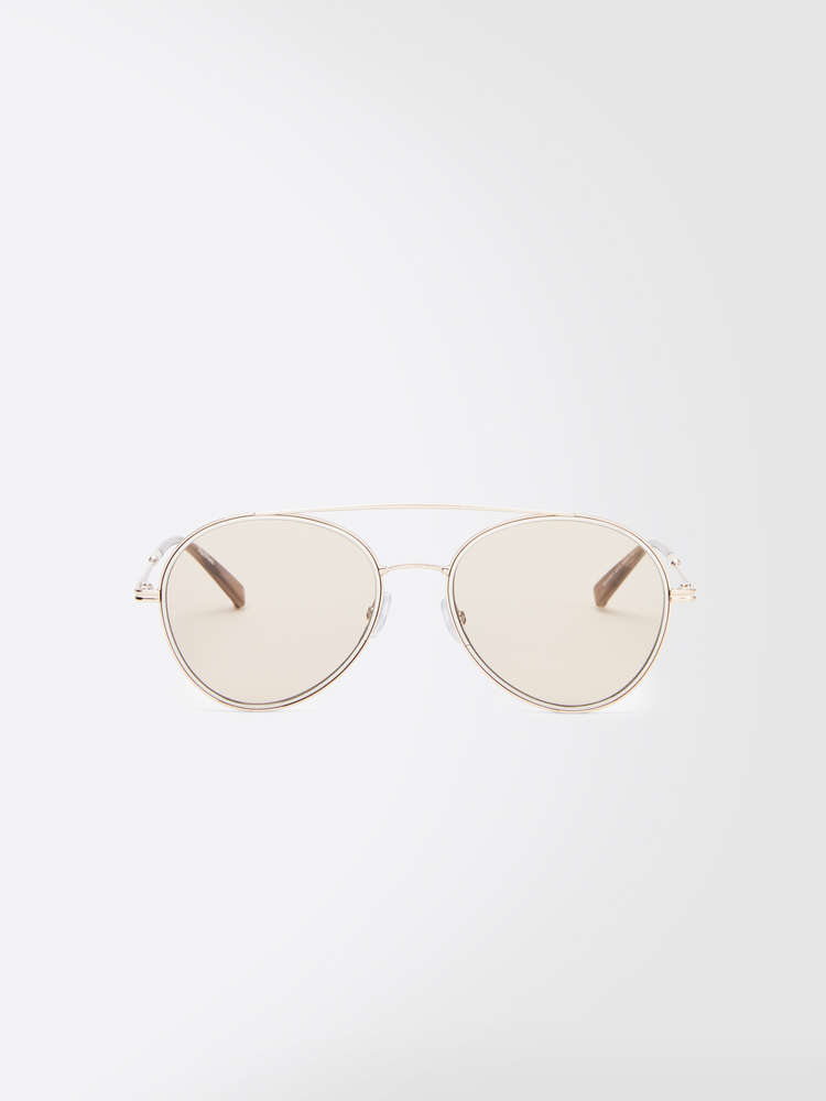 Slim aviator sunglasses