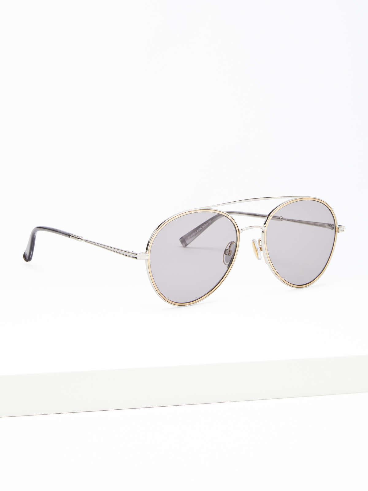 Max Mara - Schmale Piloten-Sonnenbrille - 2