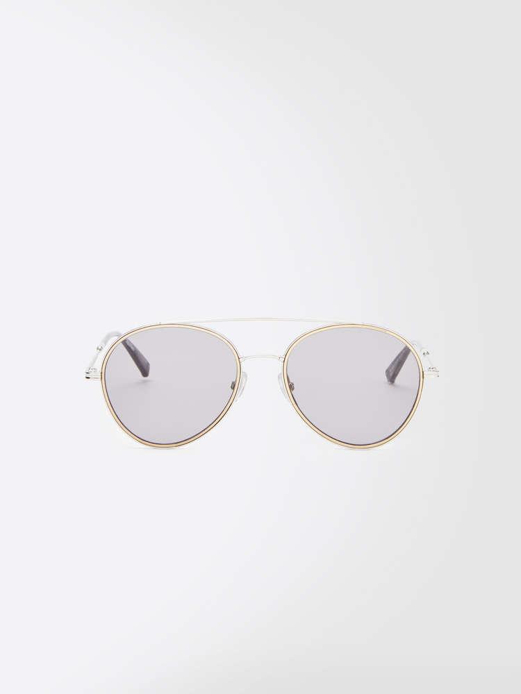 Slim aviator sunglasses