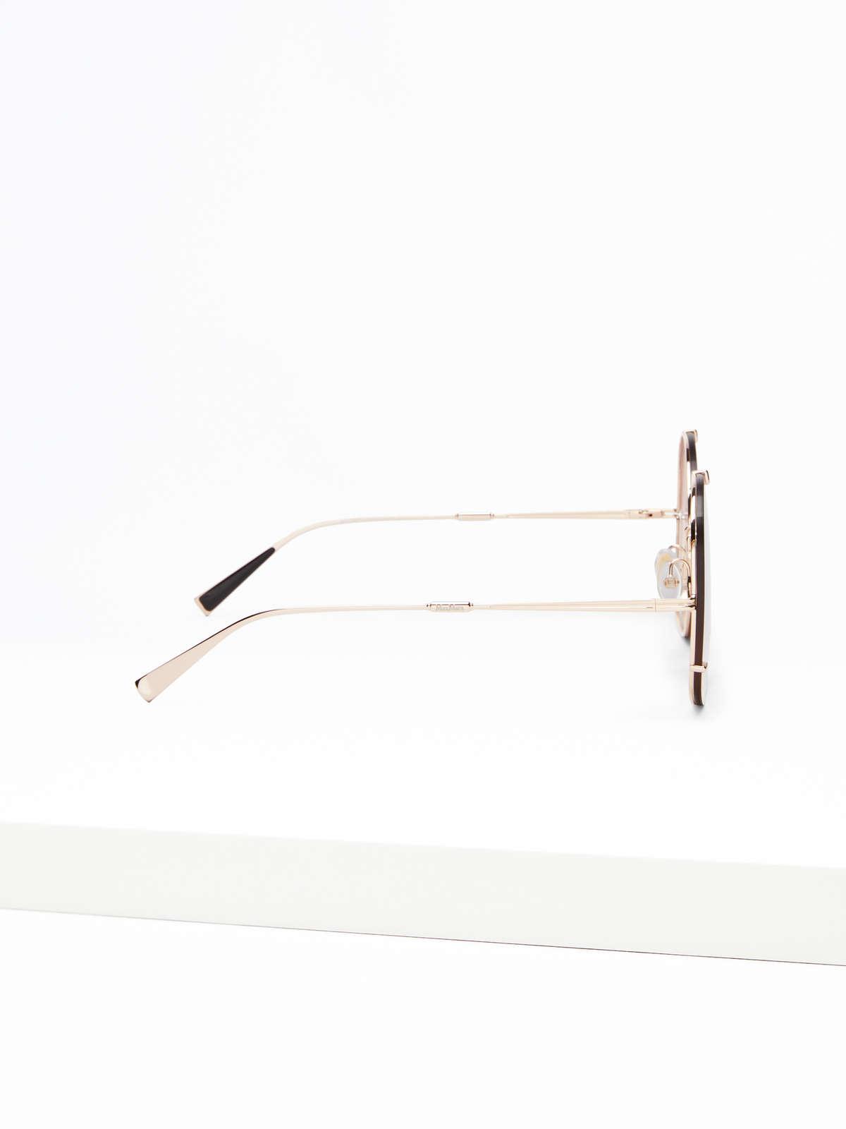 Max Mara - Runde Oversize-Sonnenbrille - 3