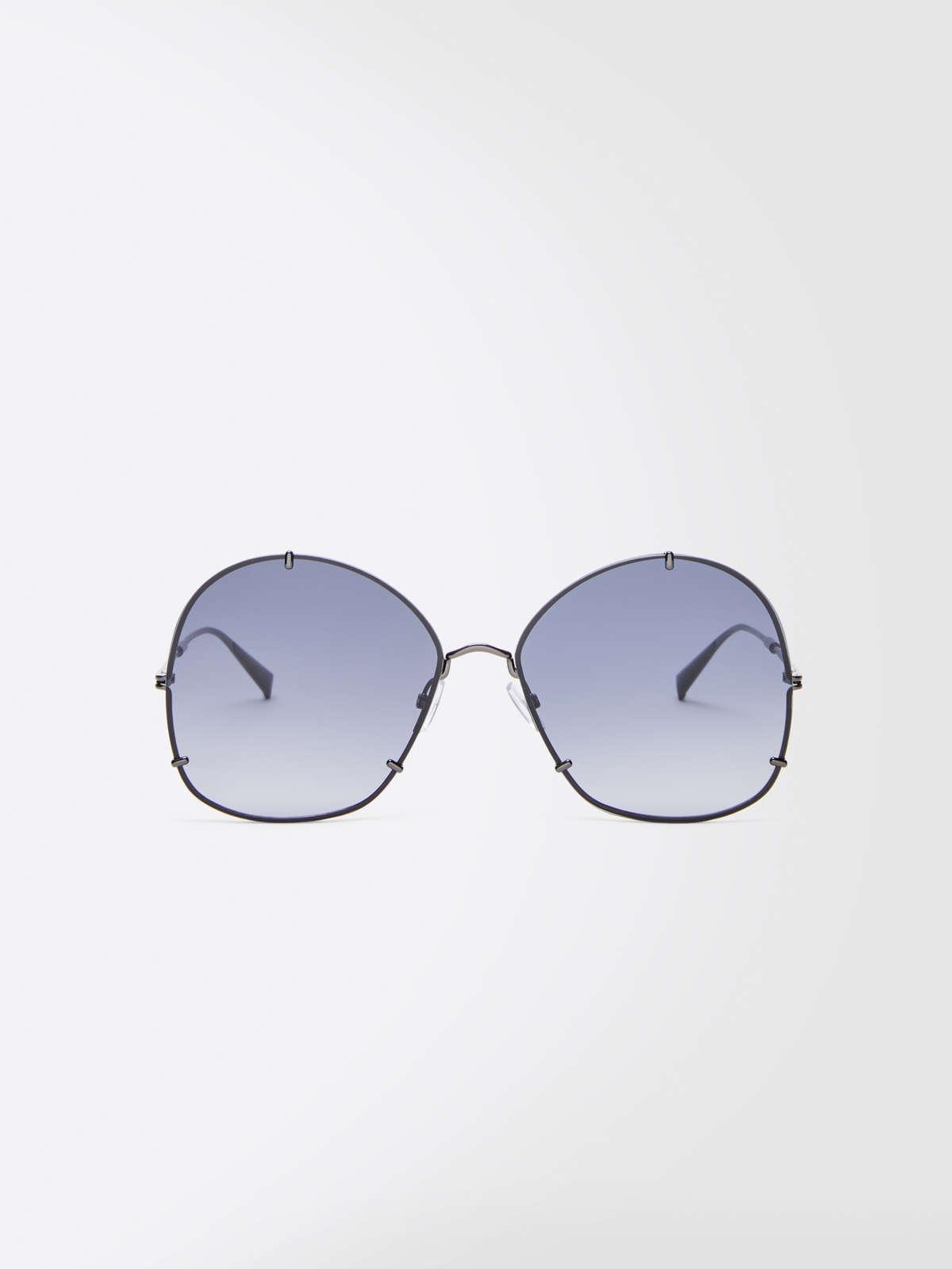 Max Mara - Runde Oversize-Sonnenbrille - 5