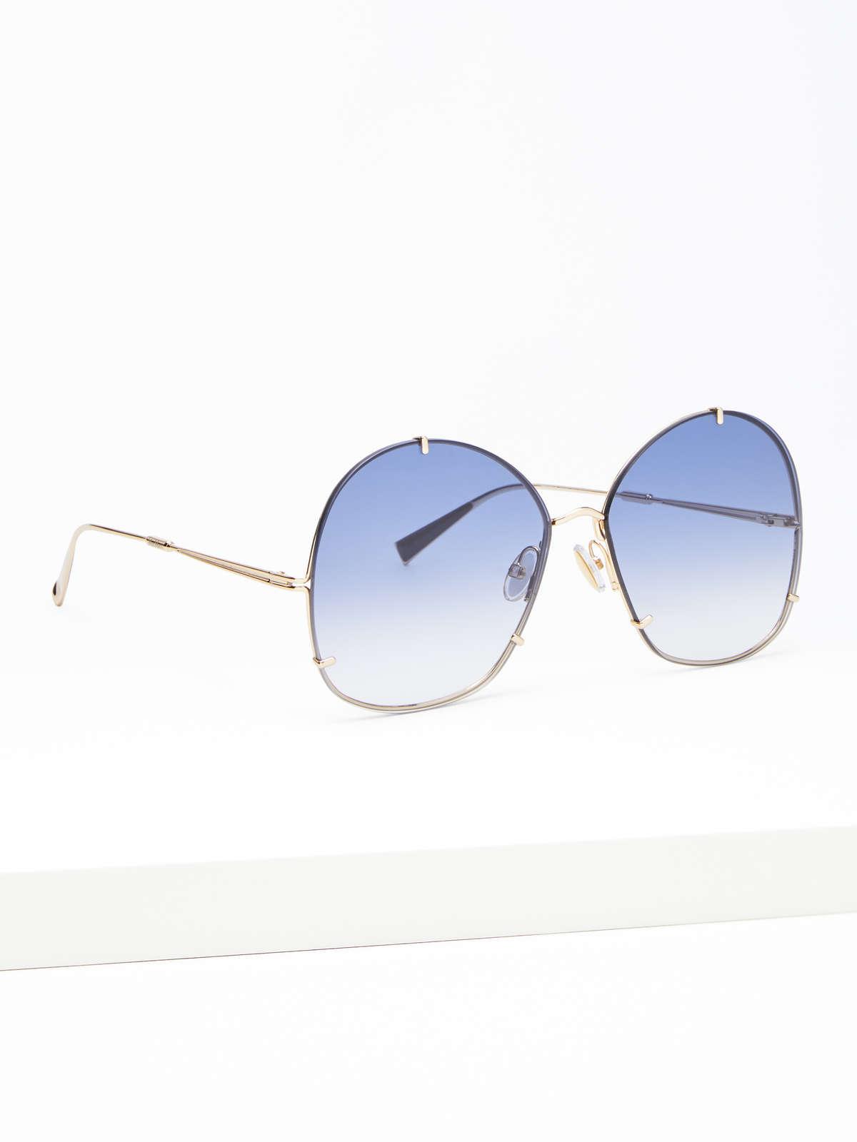 Max Mara - Runde Oversize-Sonnenbrille - 2