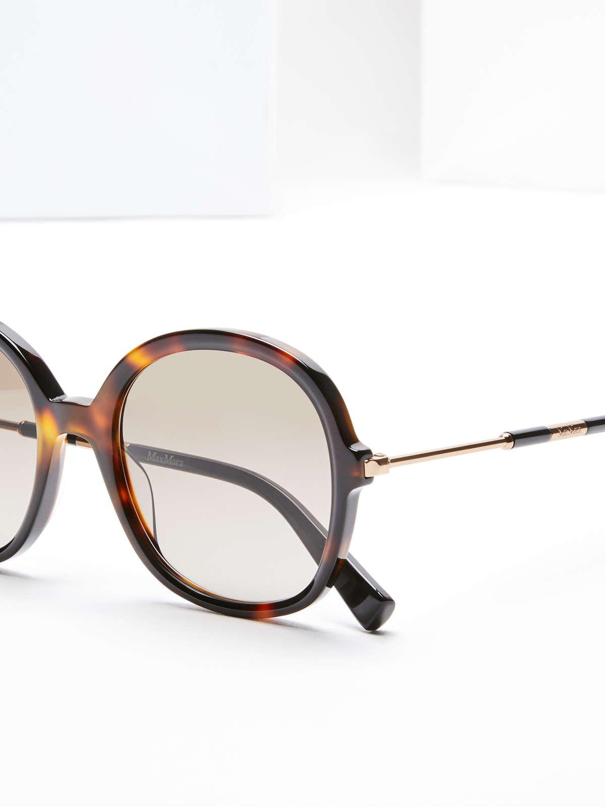 Max Mara - Oversize-Sonnenbrille - 4