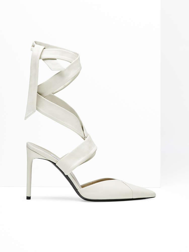 Nappa heels