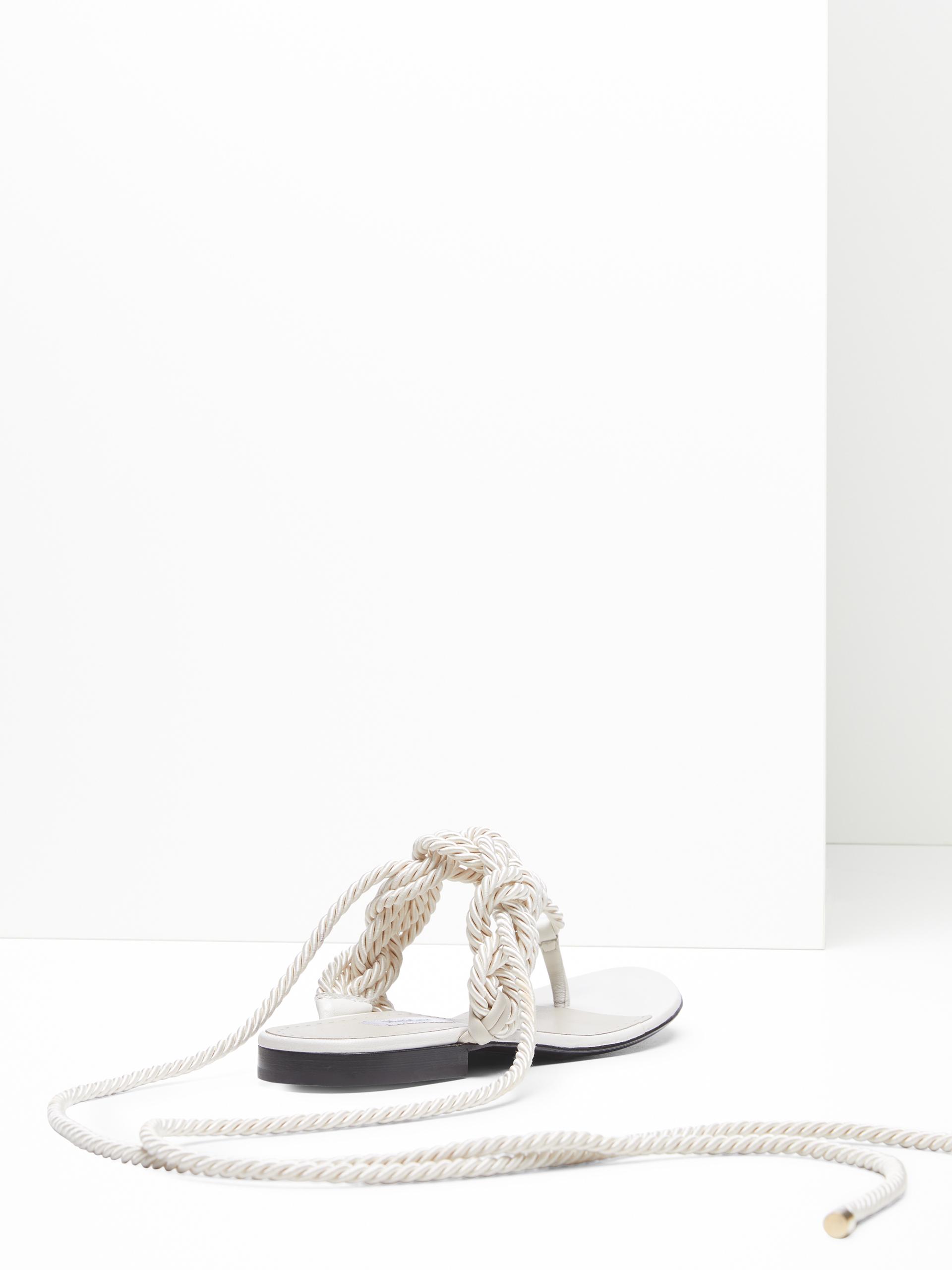 Basse Scarpe Basse Intrecciata Sandalo Sandalo Gioiello Scarpe nwmNv80
