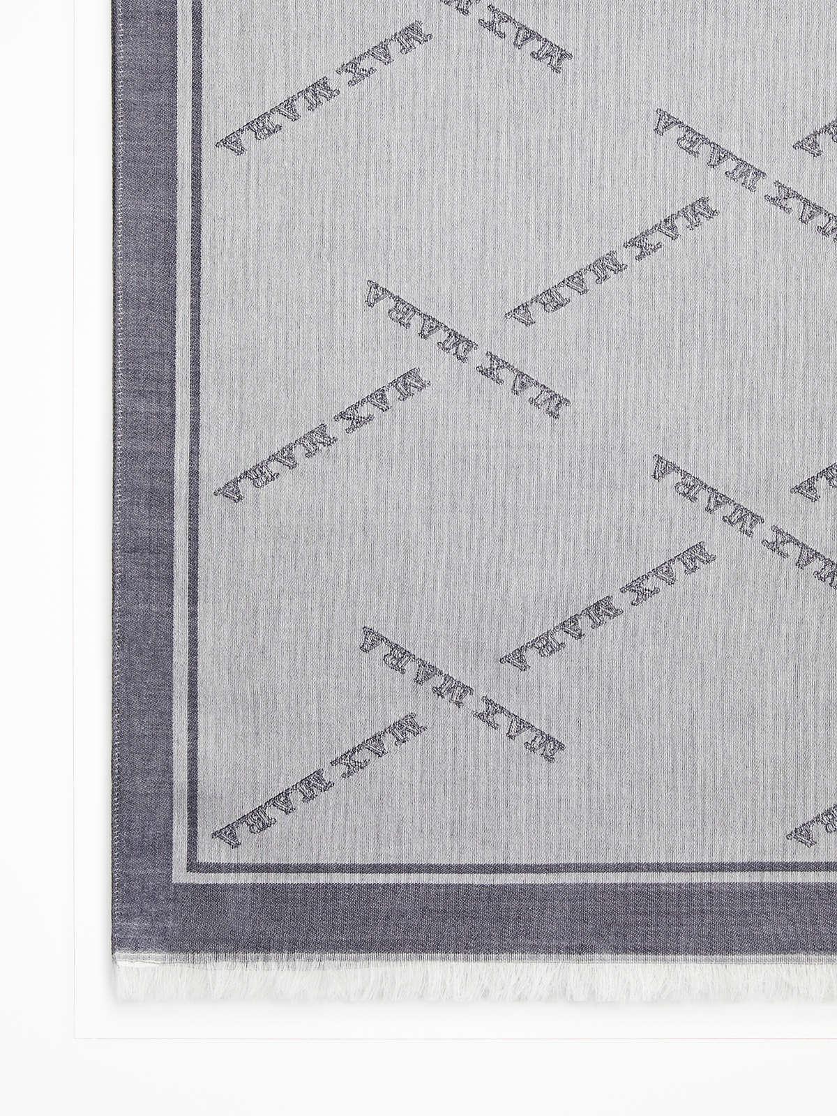 Max Mara - Foulard aus Wolle, Seide und Baumwolle - 3