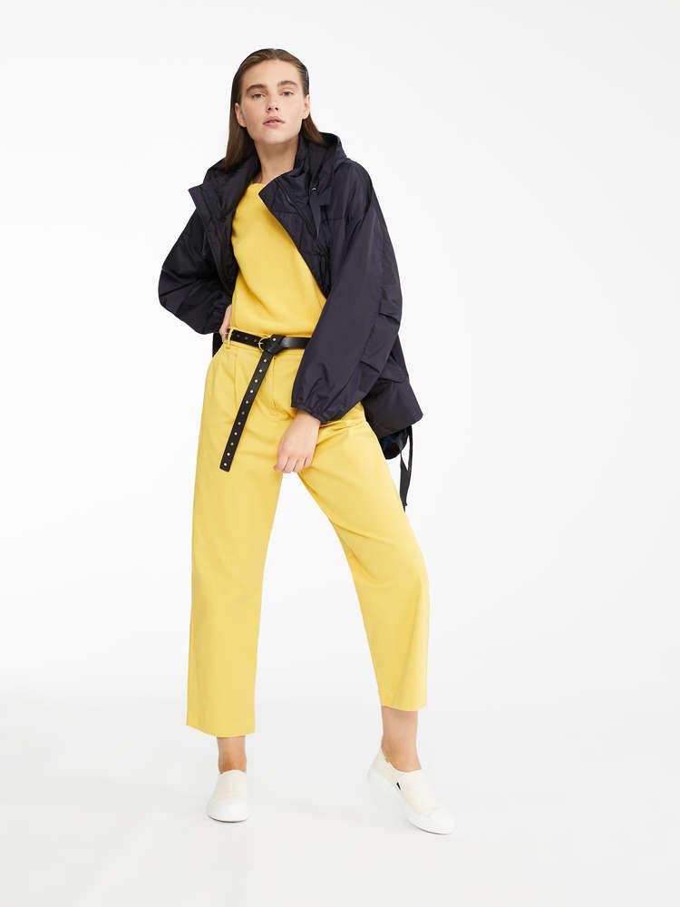 Water-repellent taffeta raincoat
