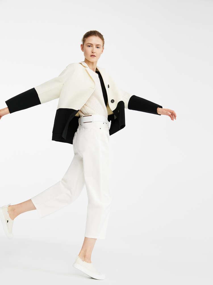 Wool blend jacket