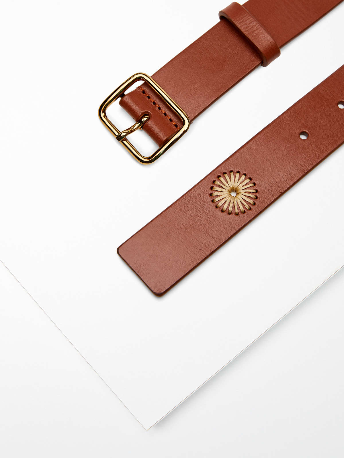 Max Mara - Leather belt - 2