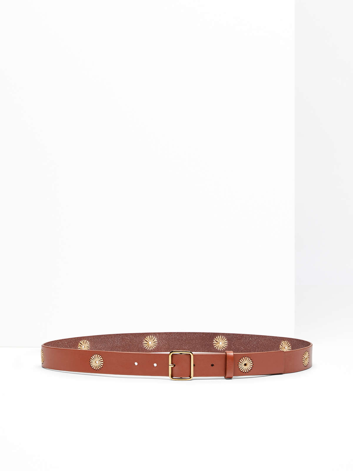 Max Mara - Leather belt - 6