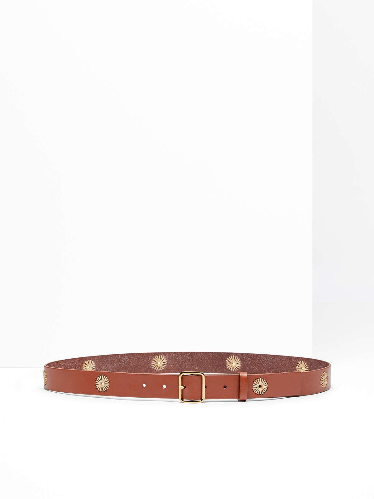 Max Mara - Leather belt - 1