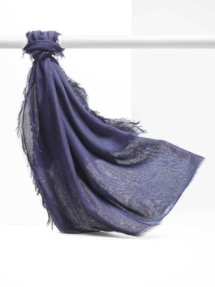Cashmere-blend shawl