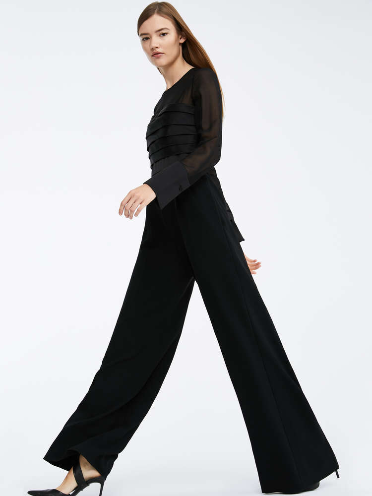 Silk and cady jumpsuit