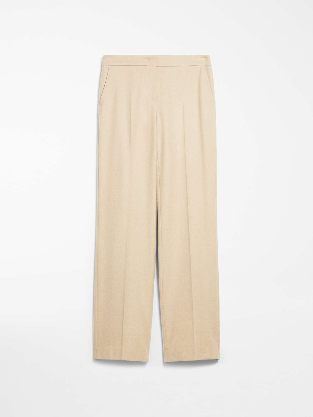 Camel And Cashmere Trousers by Max Mara