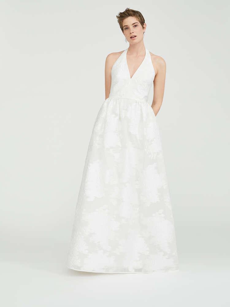 Kleid in Jacquard