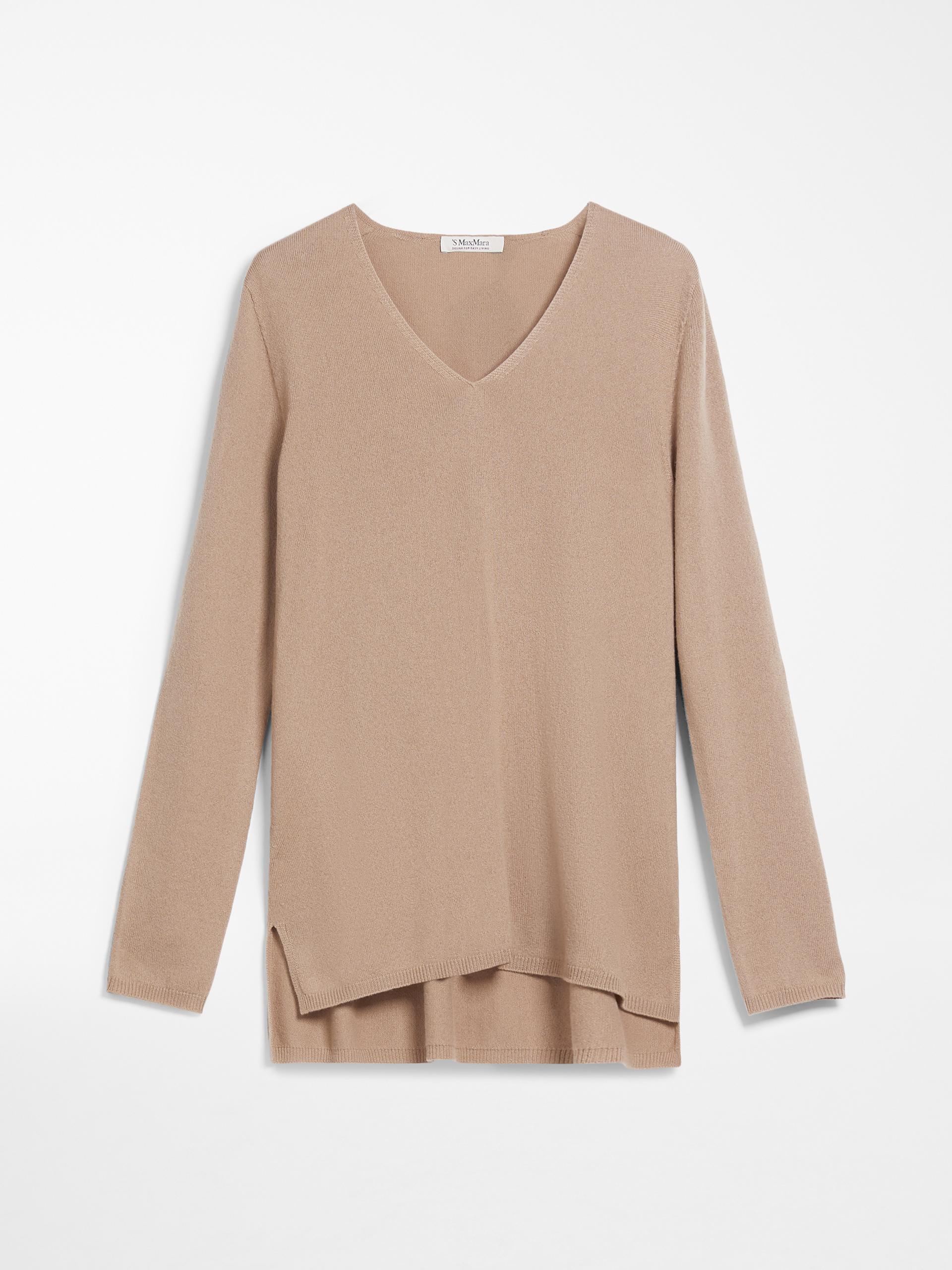 5a047b5b9d2d4 Cashmere yarn jumper, camel -