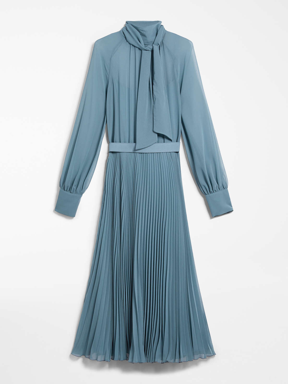 Georgette Sablé Dress by Max Mara