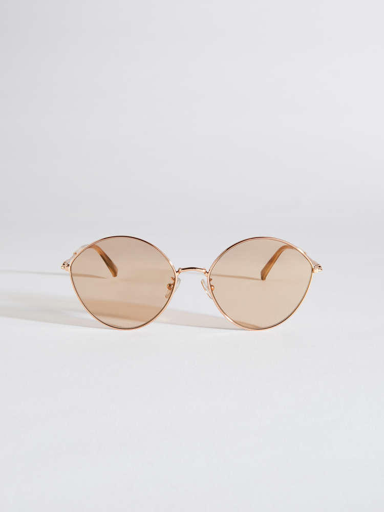 Leaf-shaped sunglasses